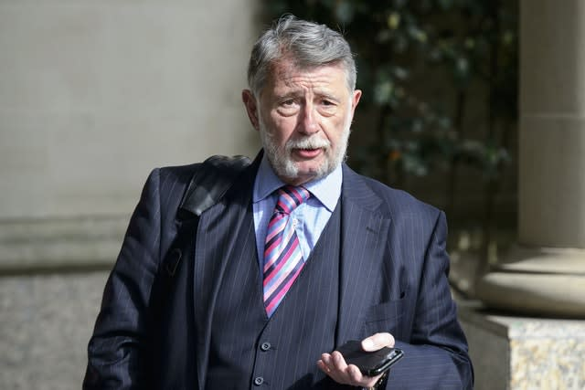 Donald Findlay is not happy with Rangers (John Linton/PA)