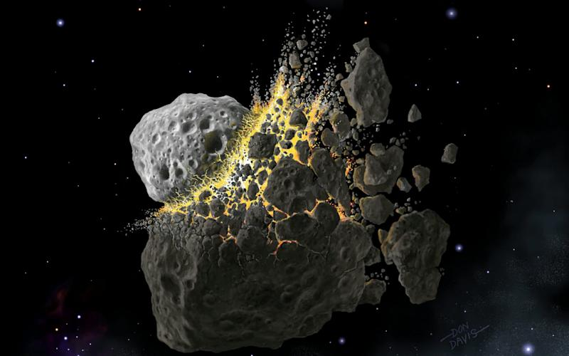 A huge asteroid collision created so much dust it started the world's first ice age - Don Davis, Southwest Research In
