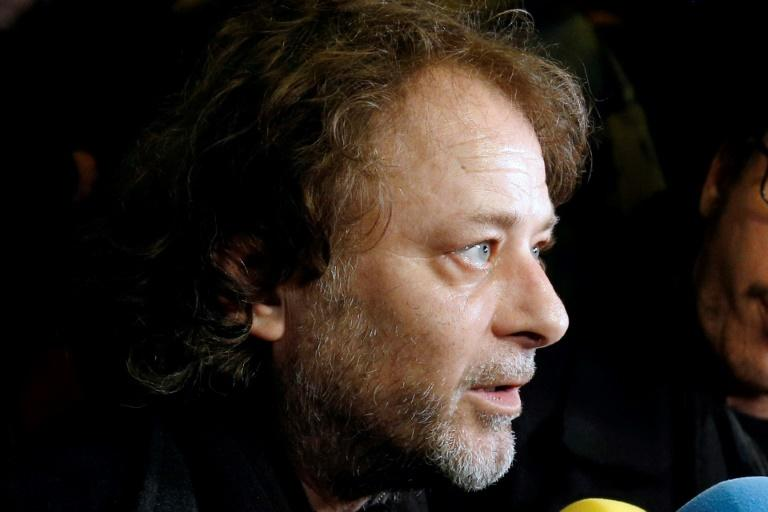 French director Christophe Ruggia has been charged over accusations that he sexually assaulted actress Adele Haenel when she was a minor (AFP Photo/Francois Guillot)
