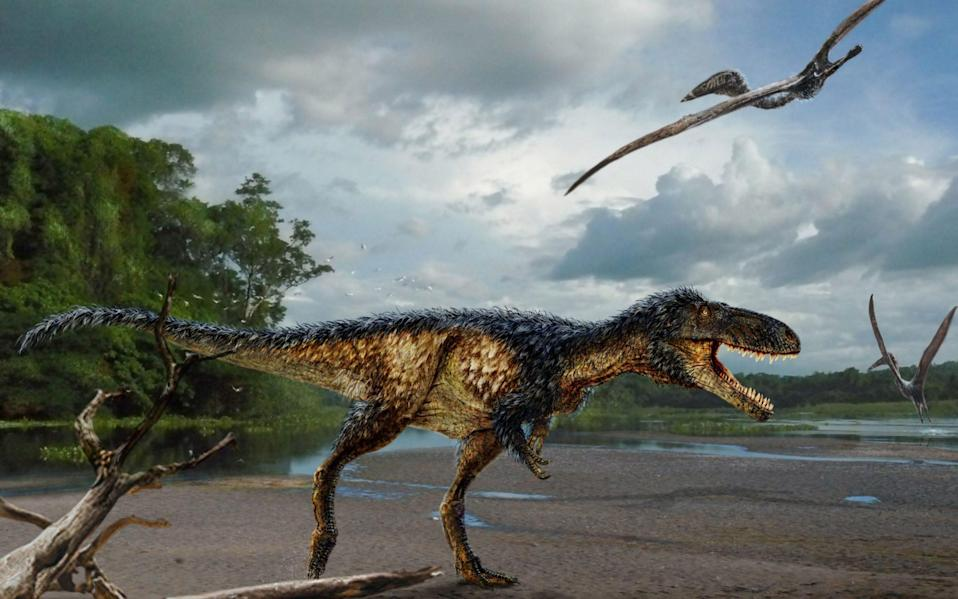 Tyrannosaurus rex (T. rex) was one of Earth's top predators - Credit: PA