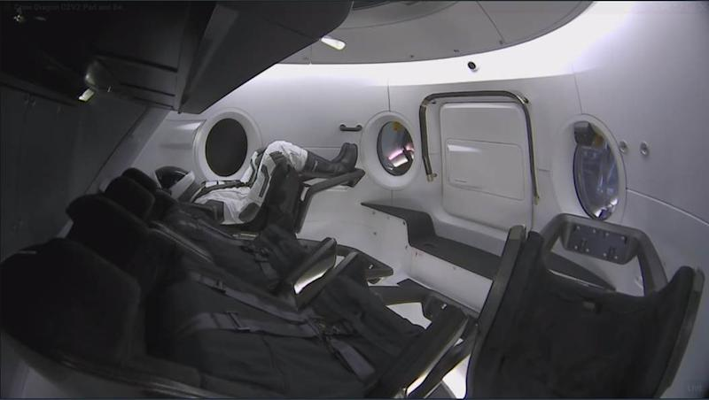 Ripley-on-board-Crew-Dragon-SpaceX-Musk