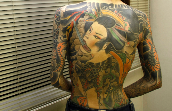 Remaining Yakuza gang members reach a 12-year low.
