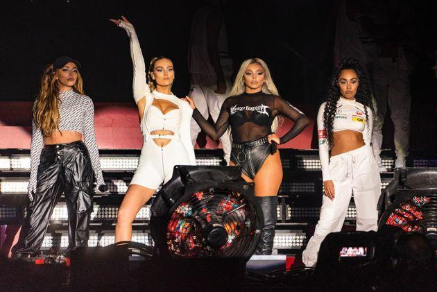 Little Mix performing as a four-piece in 2019 (Photo: Joseph Okpako via Getty Images)