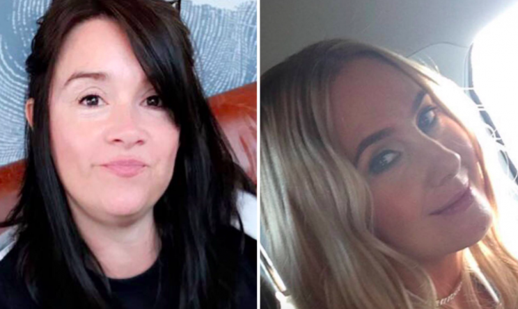 Alison Howe and Lisa Lees were waiting to collect their daughters in the foyer of the Manchester Arena (Facebook)