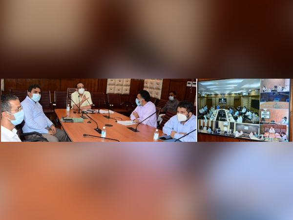 Rohit Kansal, Jammu and Kashmir Principal Secretary of Power and Information reviewed ongoing power restoration works in the Jammu Division.