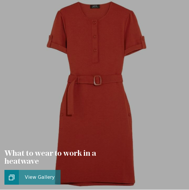 What to wear to work in a heatwave- summer style