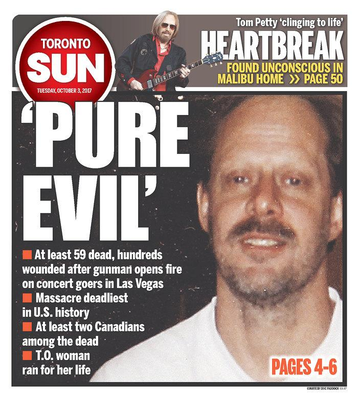 "<p>""Toronto Sun,"" published in Toronto, Canada. (newseum.org) </p>"