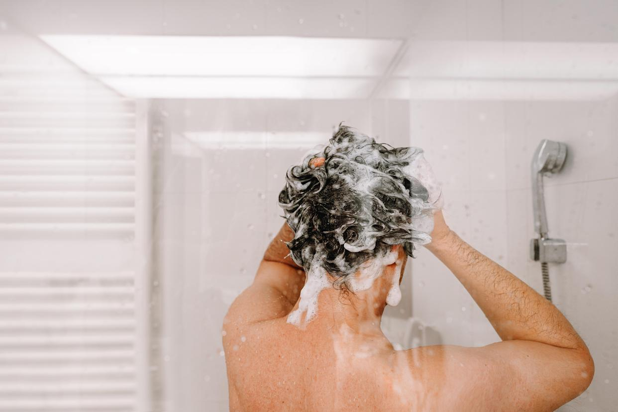 Want your best hair ever? Try switching your shower filter (Photo via Getty Images).