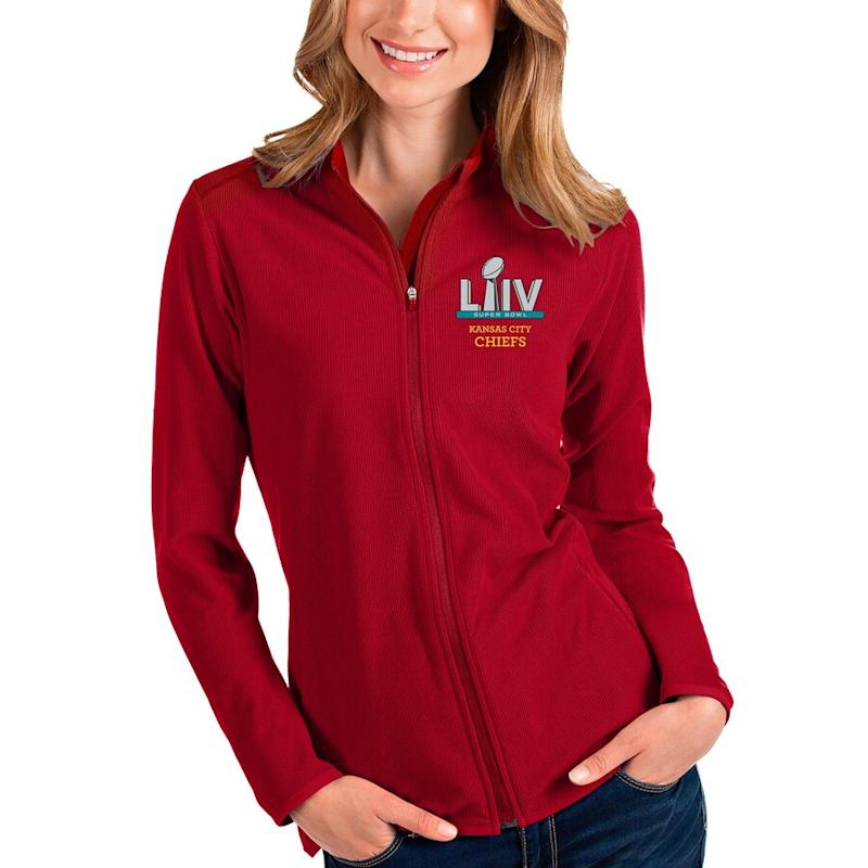 Chiefs Super Bowl LIV Bound Full-Zip Jacket