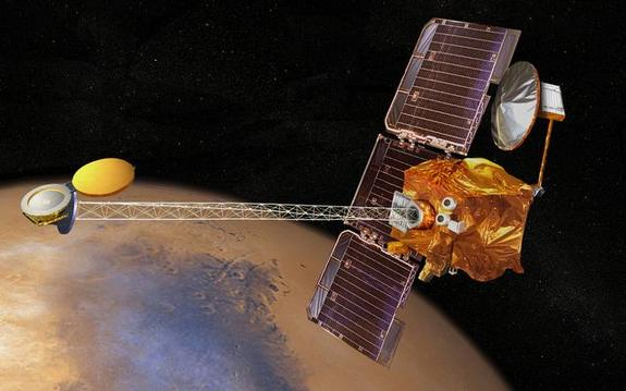 Mars Odyssey Spacecraft Bounces Back from Glitch at Red Planet