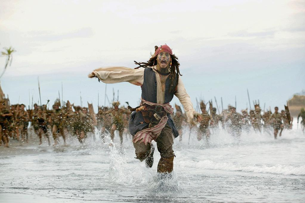 """PELEGOSTO ISLAND - <a href=""""http://movies.yahoo.com/movie/1808556813/info"""">Pirates of the Caribbean: Dead Man's Chest</a> (2006)  PRO: Beautiful black sand beaches  CON: Limited dining options   The islanders have a way of dealing with visitors to their shores: cook at 350 degrees for 2 hours and serve with veggies. However, if you're a swaggering pirate who can speak their language, they may make you their chief (and then cook you)."""