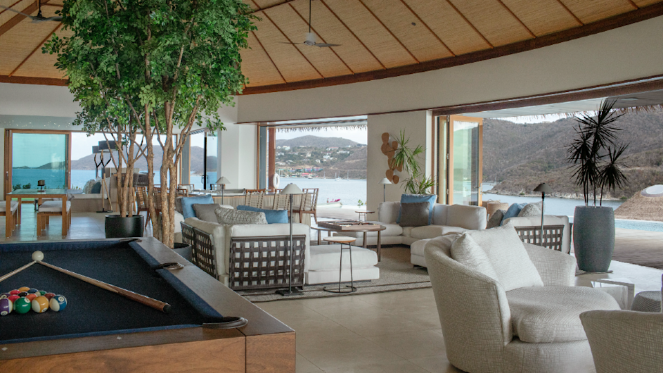 A living area at the Point Estate. - Credit: Courtesy Virgin Limited Edition