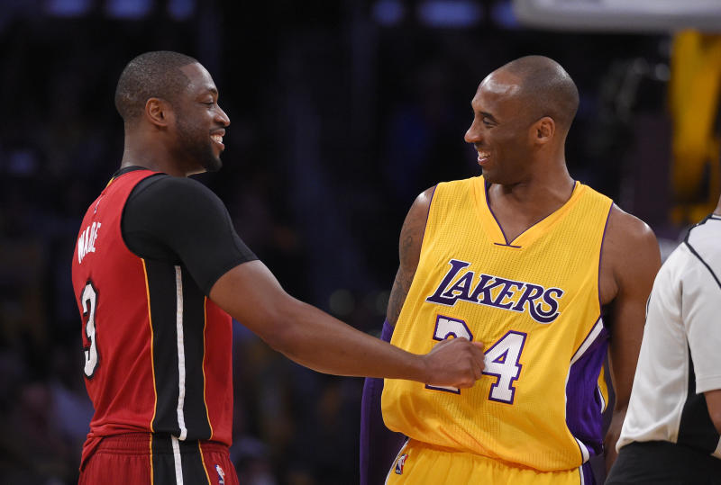 Dwyane Wade took to Instagram to remember Kobe Bryant on Sunday.
