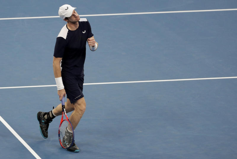 Murray Out Of Australian Open