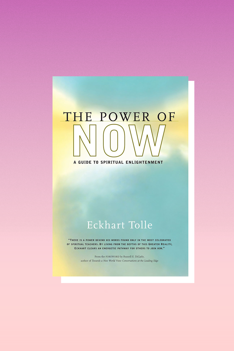 """If you haven't read this monumental self-help book before, after a breakup is the perfect time because it focuses on living in the moment, not ruminating in the past. It's infused with wisdom about how to look at yourself with love and compassion, which is so important when you're reeling from a breakup.<br><br>""""Love is not selective, just as the light of the sun is not selective. It does not make one person special. It is not exclusive. Exclusivity is not the love of God but the 'love' of ego. However, the intensity with which true love is felt can vary. There may be one person who reflects your love back to you more clearly and more intensely than others, and if that person feels the same toward you, it can be said that you are in a love relationship with him or her."""" – <em>The Power Of Now</em>"""