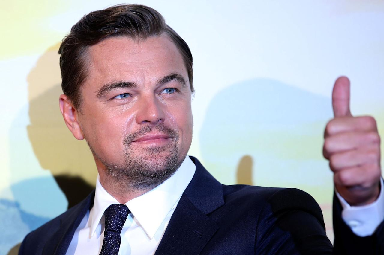 "<p> <a class=""sugar-inline-link ga-track"" title=""Latest photos and news for Leonardo DiCaprio"" href=""https://www.popsugar.com/Leonardo-DiCaprio"" target=""_blank"" data-ga-category=""Related"" data-ga-label=""https://www.popsugar.com/Leonardo-DiCaprio"" data-ga-action=""&lt;-related-&gt; Links"">Leonardo DiCaprio</a> at the <strong>Once Upon a Time in Hollywood</strong> premiere in Rome.</p>"