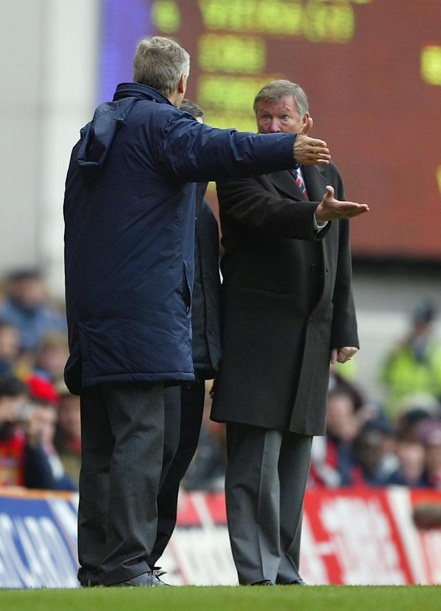 Arsene Wenger and Sir Alex Ferguson remained best of enemies for another 11 years after the latter announce he might retire
