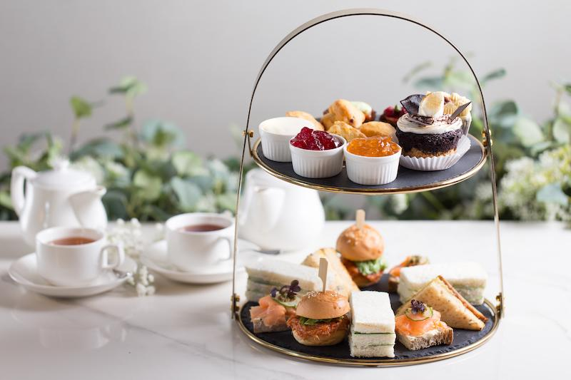 Afternoon tea set. Photo: The Marmalade Pantry