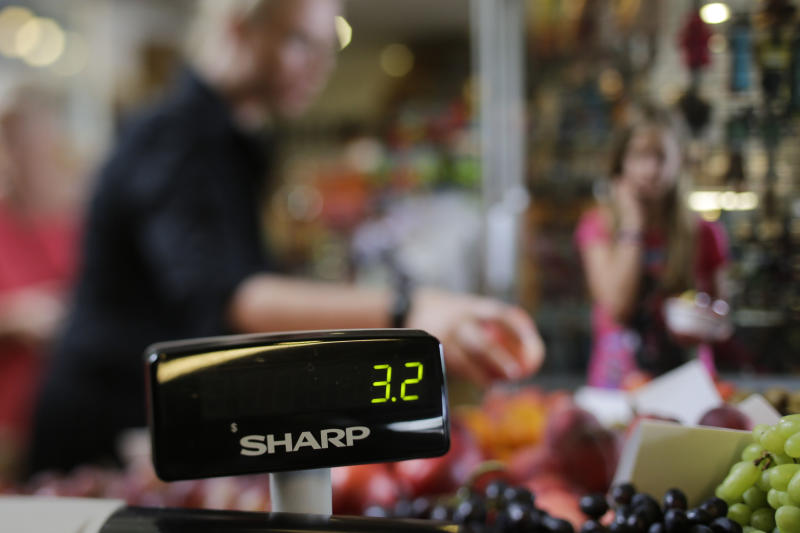 "In this photo arranged to show the number ""32,"" the number is displayed at a local supermarket in Los Angeles, on Thursday, July 11, 2013. A new poll shows that 32 percent of Americans put together a budget each month to track income and expenditures, and just 30 percent have a long-term financial plan laying out savings and investment goals. (AP Photo/Jae C. Hong)"