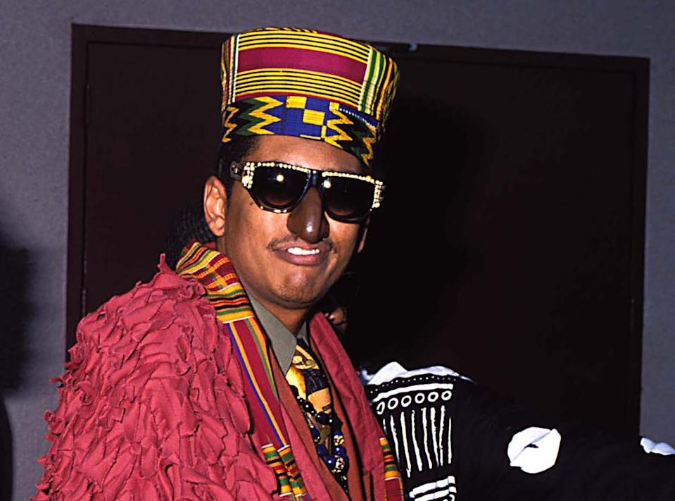 Shock G of Digital Underground at the 1990 MTV Video Music Awards. (Photo: Jeff Kravitz/FilmMagic)
