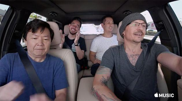 Chester Bennington has starred in one final video. Source: Apple Music
