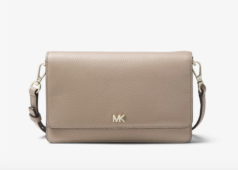 Pebbled Leather Convertible Crossbody Bag. (PHOTO: Michael Kors)
