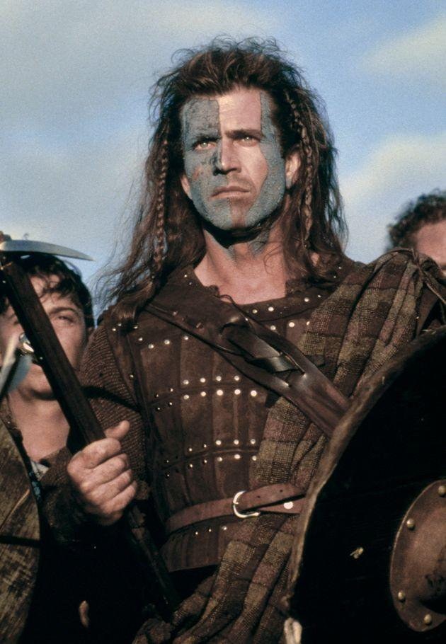 Mel Gibson on the set of his movie Braveheart. (Photo by Sunset Boulevard/Corbis via Getty Images) (Photo: Sunset Boulevard via Getty Images)