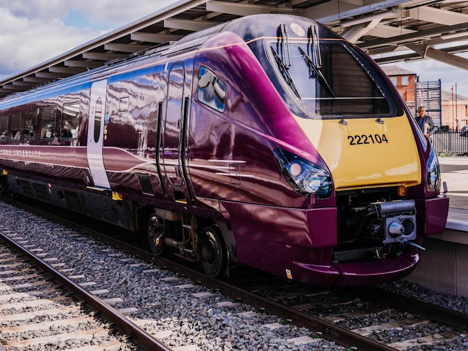 East Midlands Railway is launching a new service (EMR)