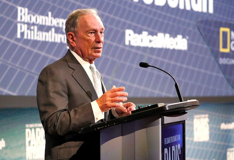 Who is Michael Bloomberg? Source: Getty