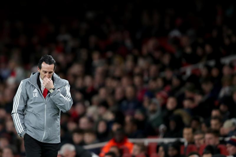 Unai Emery sacked by Arsenal after poor start to season