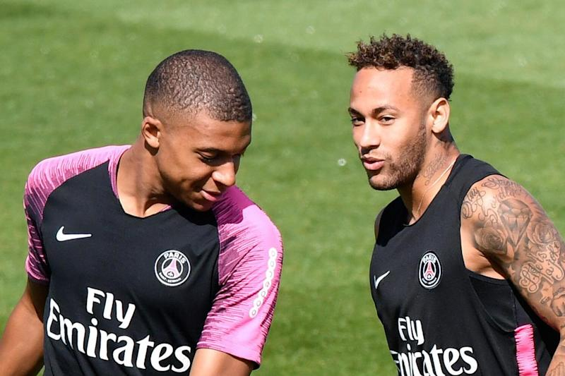Targets: Kylian Mbappe and Neymar: AFP/Getty Images