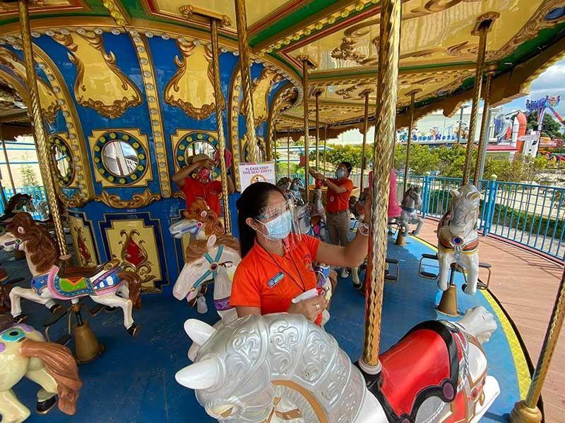 Anjo World resumes rides, banks on being 'safer theme park for all'