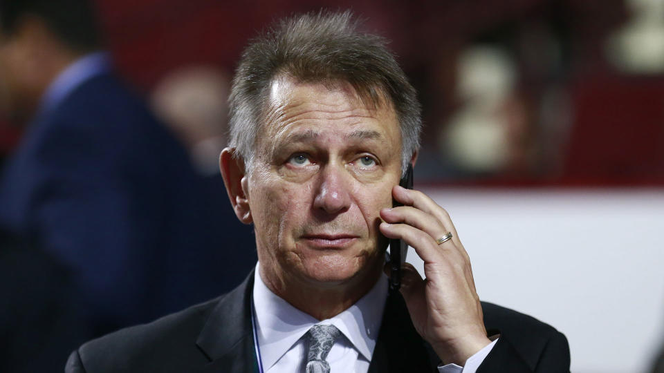 Ken Holland's phone will be getting a workout this offseason. (Photo by Jeff Vinnick/NHLI via Getty Images)