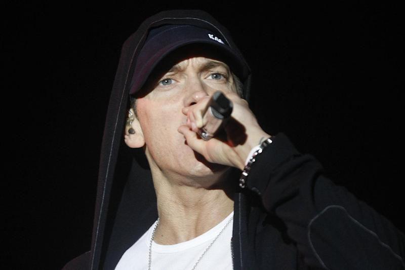 Rapper Eminem was criticised for his lyrics (PA Archive/PA Images)