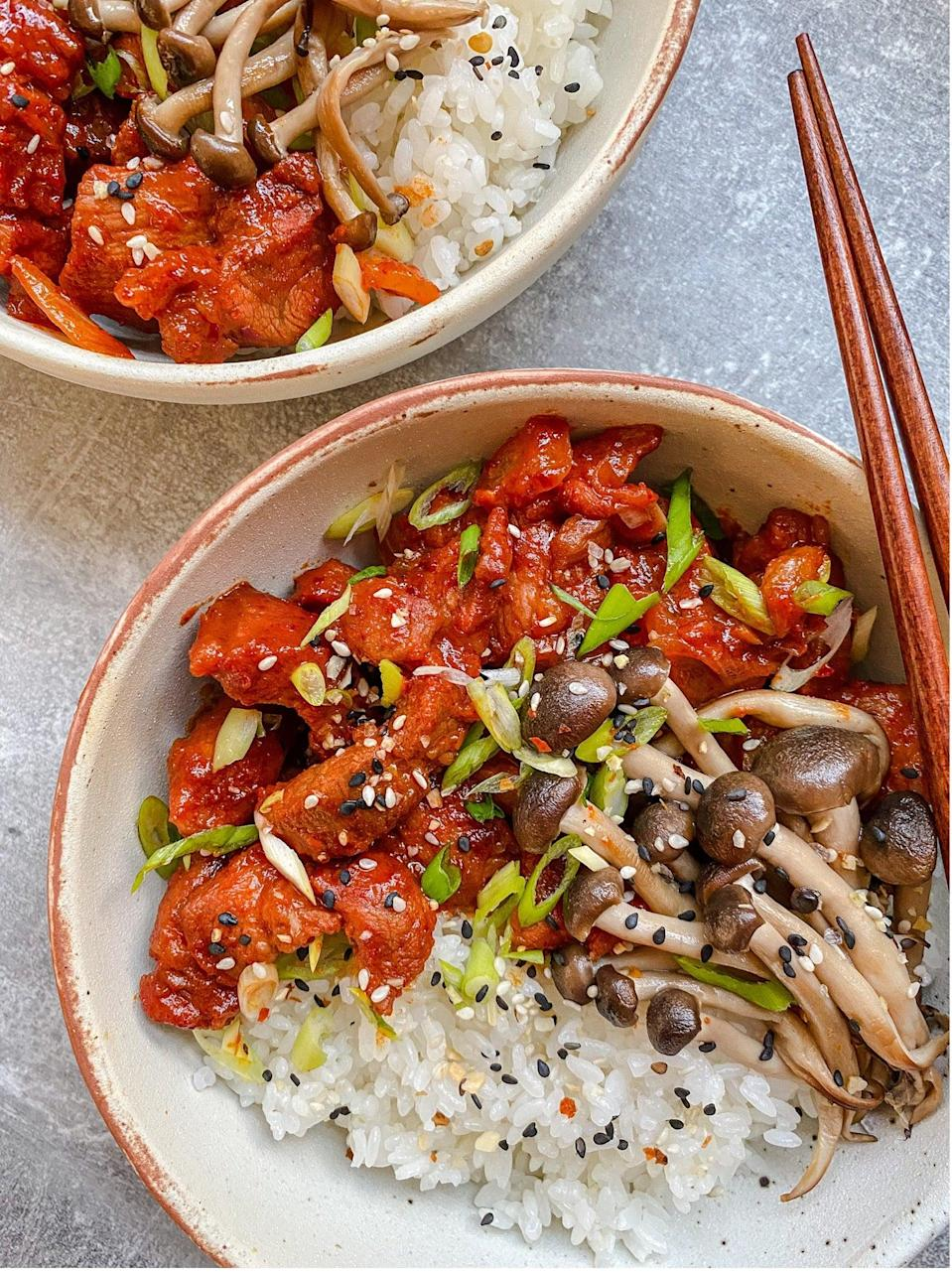 Give it time: The longer you marinate the meat, the more flavourful this dish will beVerna Gao