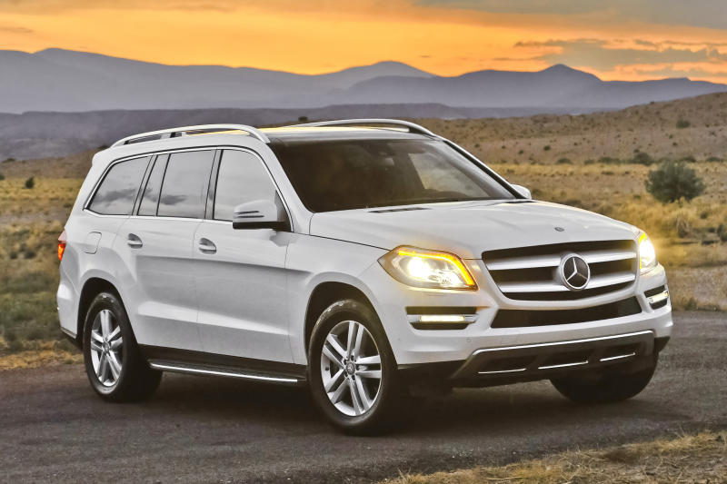 Big Mercedes-Benz GL-Class SUV is in demand