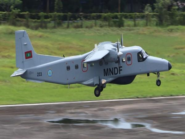 Dornier aircraft sent by Indian Navy arrives in Maldives