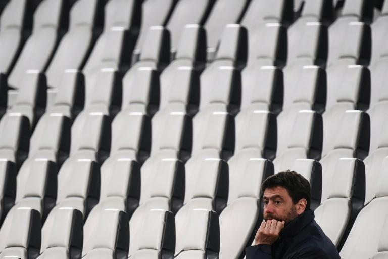 Andrea Agnelli watches Juventus beat Parma in Turin