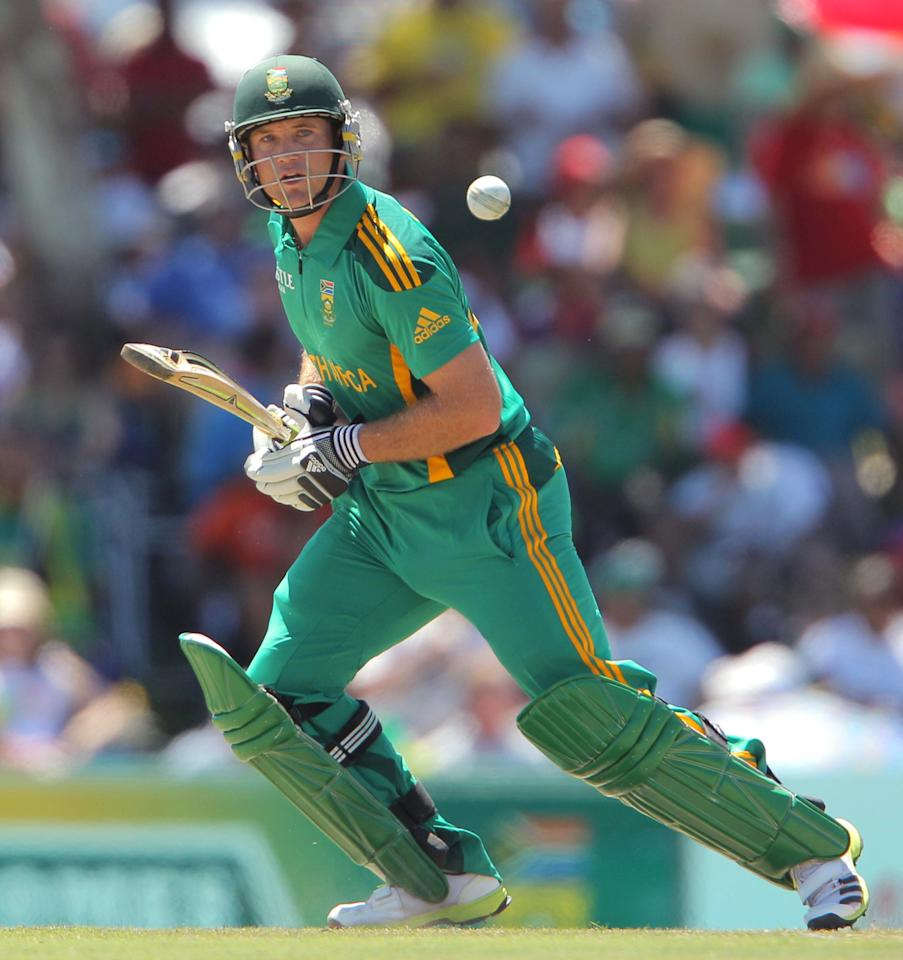 PAARL, SOUTH AFRICA - JANUARY 19:  Collin Ingram from the Proteas during the 1st One Day International match between South Africa and New Zealand at Boland Park on January 19, 2013 in Paarl, South Africa (Photo by Carl Fourie/Gallo Images/Getty Images)
