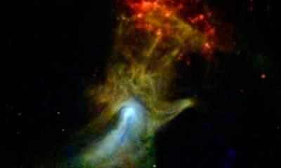 New 'Hand Of God' Picture Taken By Nasa