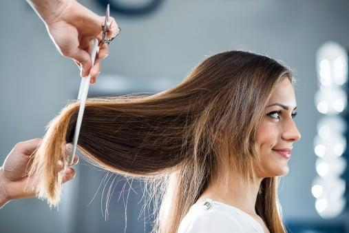 """<p>""""You should get your hair cut about once every three months to remove your split ends,"""" Toth said. He also recommends making the appointments far in advance and marking your calendar with them. """"It's important to have a hair maintenance schedule, which includes pre-booked salon appointments. [That way,] you'll never fall behind in your hair upkeep.""""</p>"""