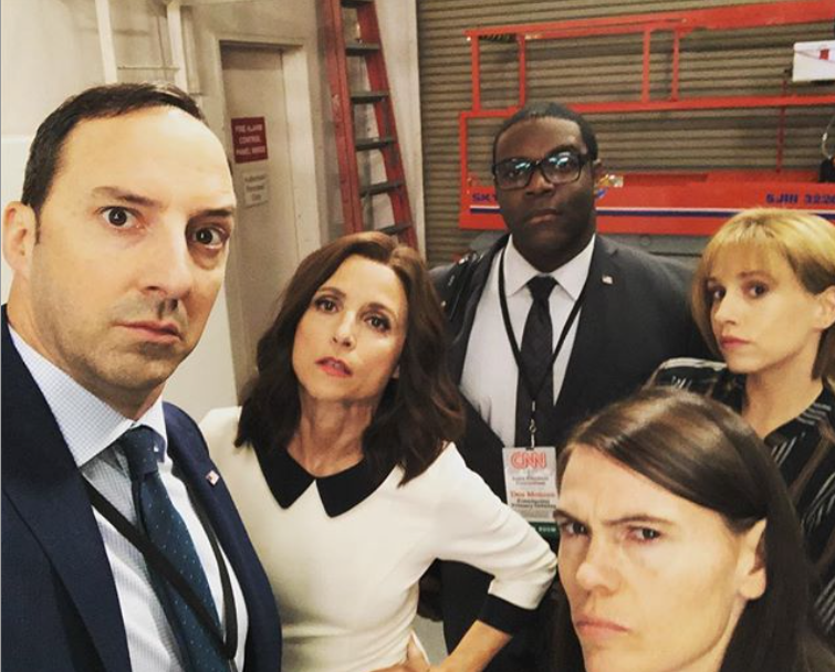 The Veep Cast Cheered Up Julia Louis Dreyfus During Cancer Treatment
