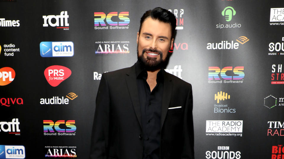 Rylan Clark-Neal attending The Audio and Radio Industry Awards in March 2020. (Photo by Lia Toby/PA Images via Getty Images)