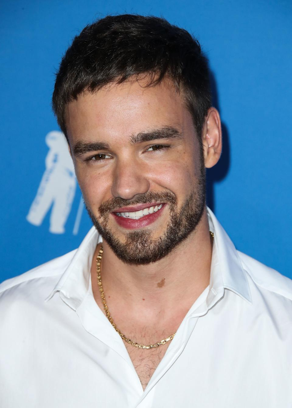 (FILE) Liam Payne Donates 360,000 Meals To Families In Need Amid Coronavirus COVID-19 Pandemic. MANHATTAN, NEW YORK CITY, NEW YORK, USA - AUGUST 20: Singer Liam Payne arrives at the 2018 MTV Video Music Awards held at the Radio City Music Hall on August 20, 2018 in Manhattan, New York City, New York, United States. (Photo by Xavier Collin/Image Press Agency/Sipa USA)