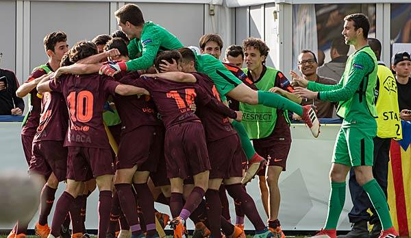 Champions League: FC Barcelona gewinnt die UEFA Youth League