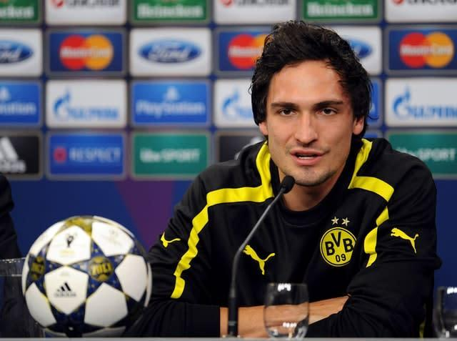 Mats Hummels was on target in a memorable win for Borussia Dortmund (UEFA/PA)