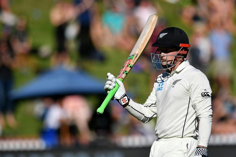 Henry Nicholls' 118 runs for New Zealand included three fours in a single over from South Africa's Kagiso Rabada