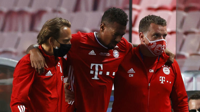 Boateng's Champions League final ended prematurely by injury