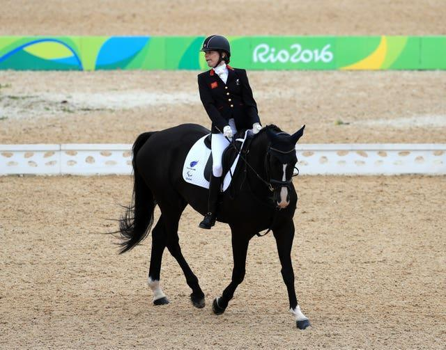 Sophie Christiansen has won eight Paralympic gold medals