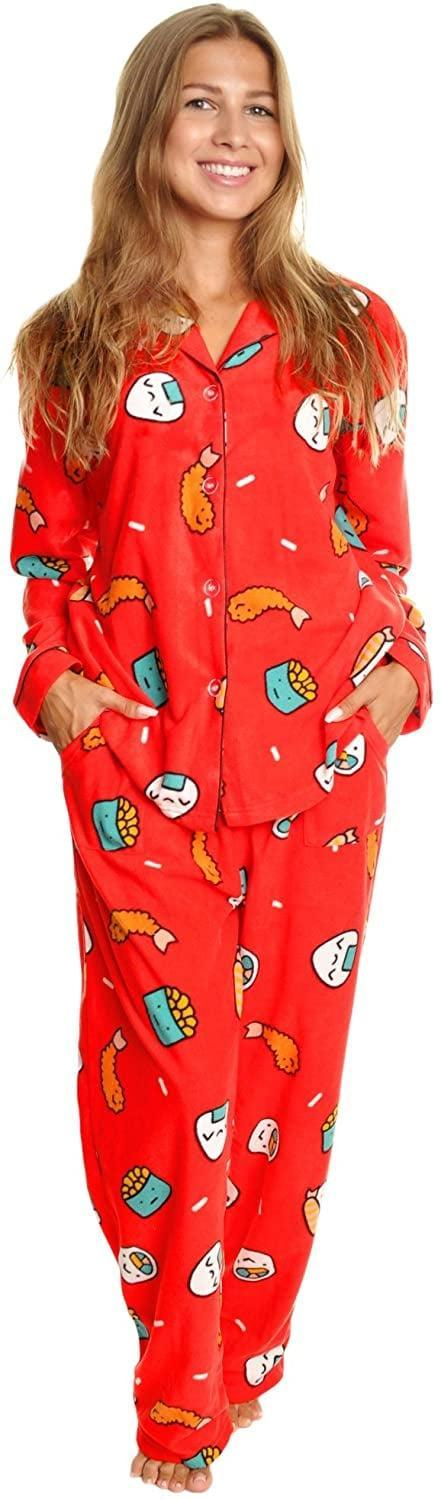 <p>One can never have too many PJs, and this <span>Sushi Fleece Pajama Set</span> ($27, originally $50) is the perfect pair.</p>